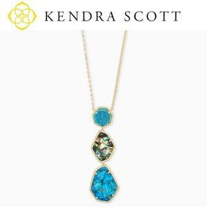 "Kendra Scott ""Nina"" BNWT Long Pendant Necklace!"